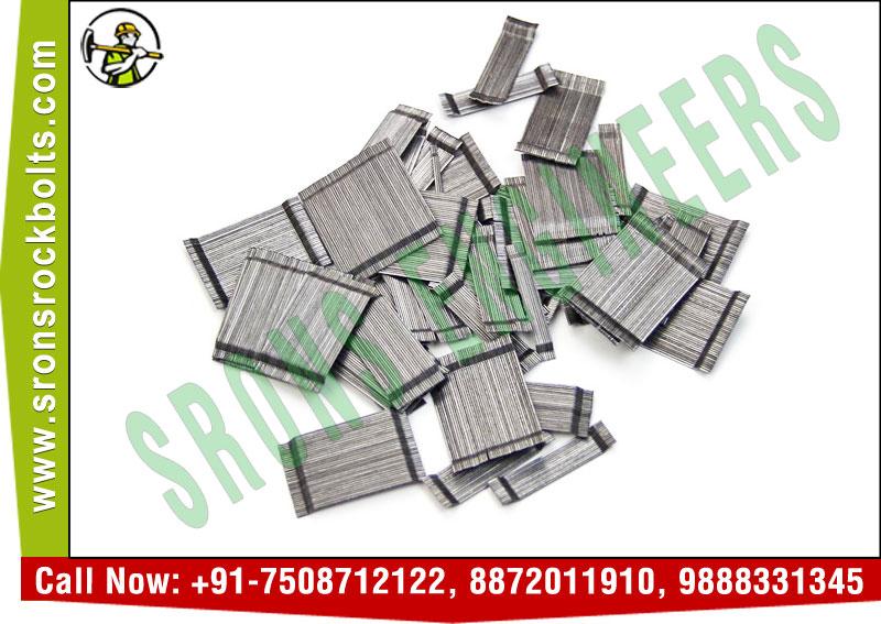 Hook End Steel Fiber Manufacturers Exporters in India +91-7508712122 http://www.sronsrockbolts.com